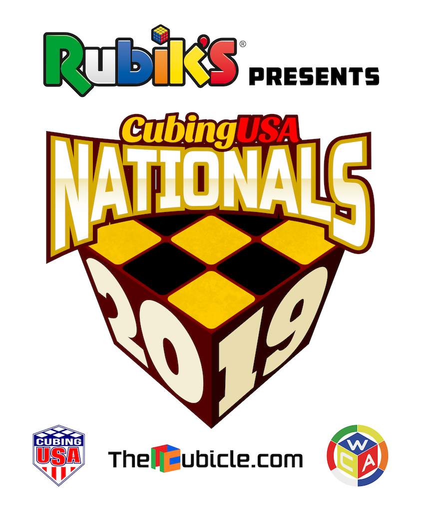 CubingUSA Nationals 2019 Logo